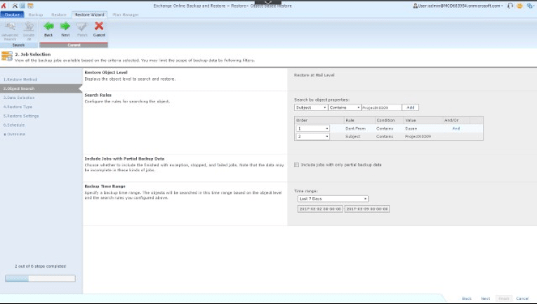 Cloud-backup-sharepoint-online-screen Shot-01