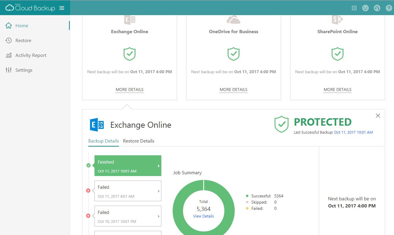 Exchange-online-Automated-Backup